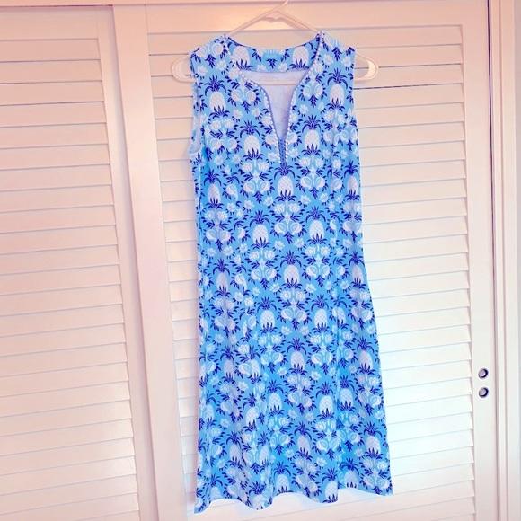 J.McLaughlin Summer Dress pineapple design